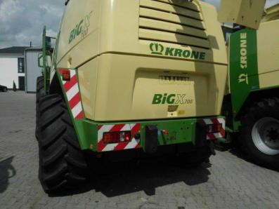 Self-propelled forage harvester Krone Big X 700, used, 2011, Emsbueren - Foto 3