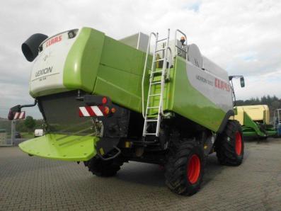 Combine harvester CLAAS Lexion 550, used, Emsbueren - Foto 3