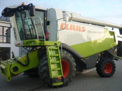 Combine harvester CLAAS Lexion 530, used, Emsbueren - Foto 1