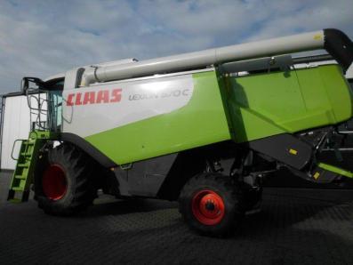 Combine harvester CLAAS Lexion 570 C, used, Emsbueren - Foto 2