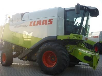 Combine harvester CLAAS Lexion 530, used, Emsbueren - Foto 4
