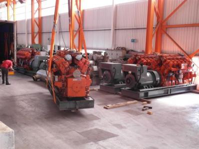 CHP Gas cogeneration sys-m, Engine: Waukesha L7042G, Leroy Somer LS AK50 VL10 6P - Foto 19