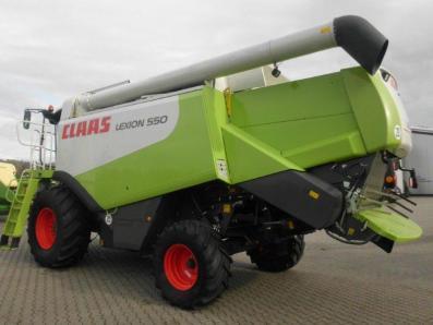 Combine harvester CLAAS Lexion 550, used, Emsbueren - Foto 2