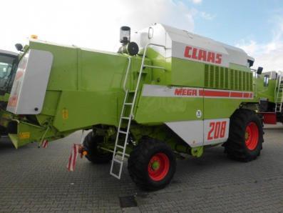 Combine harvester CLAAS Dominator 208 Mega, used, Emsbueren - Foto 4
