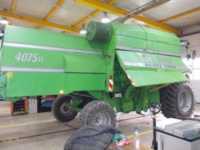 Harvester Deutz-Fahr 4075 - BISO Schrattenecker - Foto 1