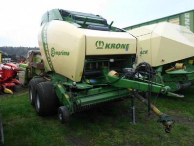 Round baler Krone Comprima V180 XC, used, Emsbueren - Foto 6