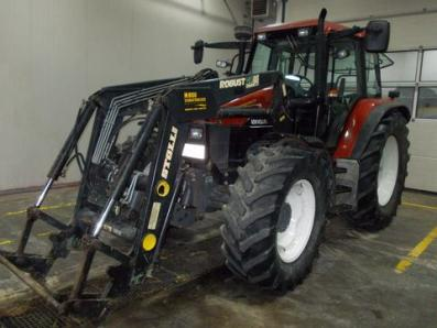 Tractor New Holland TS 115 Active Electro Command - BISO Schrattenecker