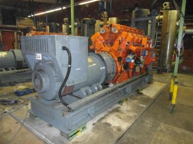 Gas cogeneration sys CHP Engine: Waukesha L7042G / Leroy Somer LS AK50 VL10 6P - Foto 14