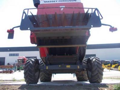 Harvester Massey Ferguson 7245 - BISO Schrattenecker - Foto 8