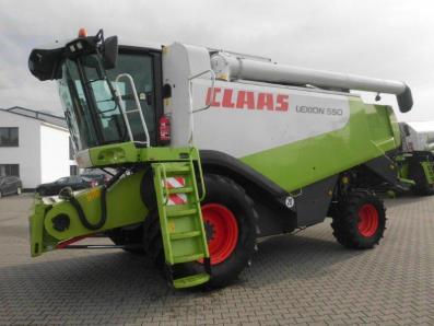 Combine harvester CLAAS Lexion 550, used, Emsbueren - Foto 1