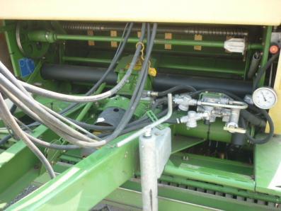 Baler Krone Comprima CV 150 XC, used, Emsbueren - Foto 4