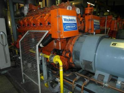 Used Gas cogeneration system / Combined Heat and Power (CHP), Engine: Waukesha L7042G / Leroy Somer LS AK 50 VL10 6-P - Foto 8