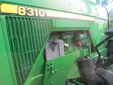 Tractor John Deere 8310 - acrar 10