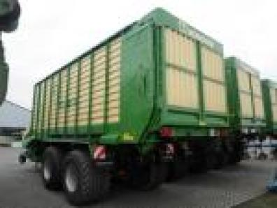 Forage transport wagon Krone ZX 450 GD, 2009 used, Emsbueren  - Foto 3