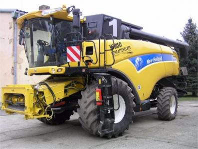 Harvester New Holland CX8080 - BISO Schrattenecker - Foto 1
