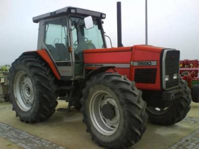 Tractor Massey Ferguson 3680 - BISO Schrattenecker - Foto 1