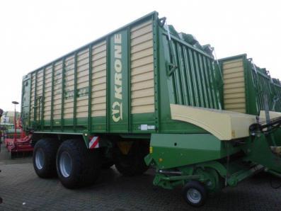 Dual purpose loading wagons Krone ZX 450 GD, used, Emsbueren - Foto 1