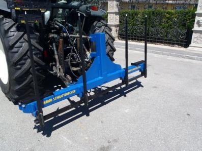 Forage harvesting equipment Ballentransportgabel - BISO Schrattenecker - Foto 4