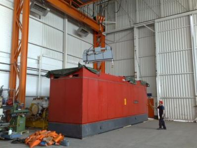 Used Protective casing of the gas turbine - Foto 11