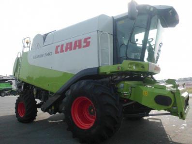 Combine harvester CLAAS Lexion 540, used, Emsbueren - Foto 4