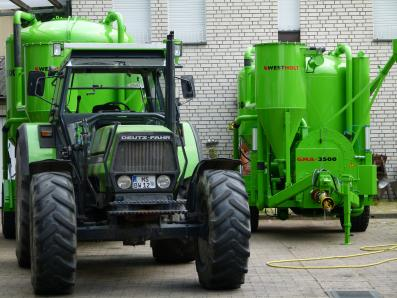 Feed mill plant trailer, mobile, new, milling / mixing system GMA 4000 - Foto 10
