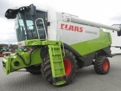 Combine harvester CLAAS Lexion 560, used, Emsbueren - Foto 1