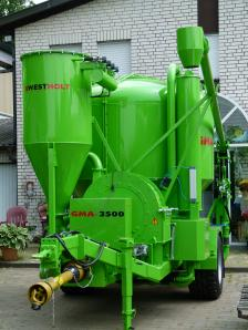 Feed mill plant trailer, mobile, new, milling / mixing system GMA 4000 - Foto 9