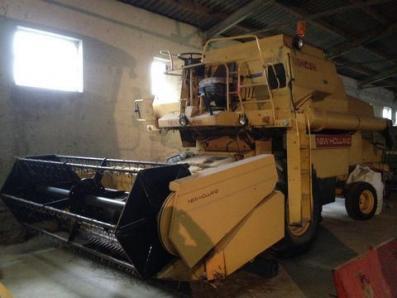 Harvester New Holland 8040 - BISO Schrattenecker - Foto 1