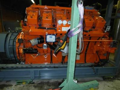 Used Gas cogeneration system / Combined Heat and Power (CHP), Engine: Waukesha L7042G / Leroy Somer LS AK 50 VL10 6-P - Foto 14