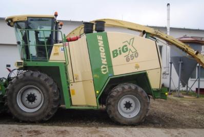 Forage harvesters Krone Big X 560 - BISO Schrattenecker - Foto 4