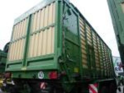 Forage transport wagon Krone ZX 450 GD, 2009 used, Emsbueren  - Foto 6