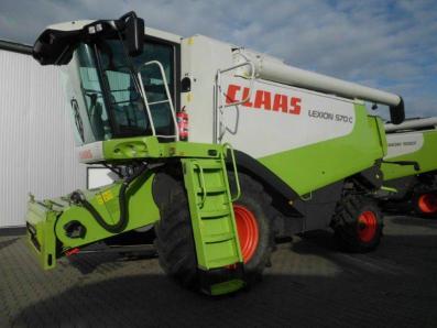 Combine harvester CLAAS Lexion 570 C, used, Emsbueren - Foto 5
