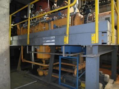 Used Condensing steam turbine Siemens AFA 6 Da / Leroy Somer LSA 56 BL7-4P, 1997 - Foto 17