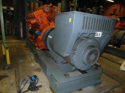 CHP Gas cogeneration sys-m, Engine: Waukesha L7042G, Leroy Somer LS AK50 VL10 6P - Foto 12