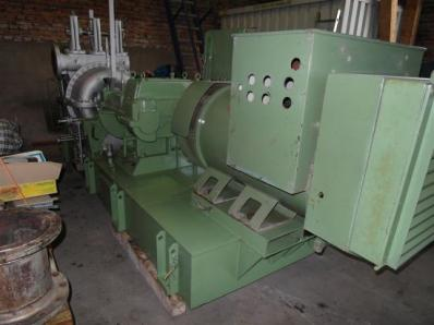 Used Condensing steam turbine Nadrowski, Dresser-Rand B5S-2+G4 / Leroy Somer - Foto 6
