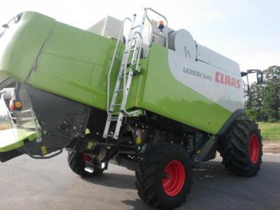 Combine harvester CLAAS Lexion 540, used, Emsbueren - Foto 3