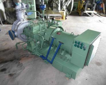 Used Steam turbine Nadrowski C5S - G4 Curtisrad - Foto 6