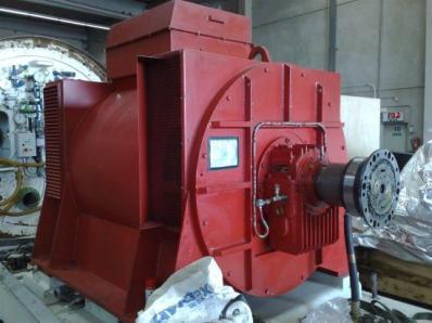 Used Generator AVK DIDBN 150 / 145 L/4 / - Foto 3