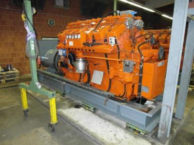 Used Gas cogeneration system / Combined Heat and Power (CHP), Engine: Waukesha L7042G / Leroy Somer LS AK 50 VL10 6-P - Foto 12