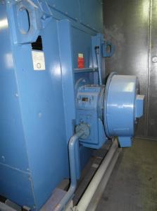 Used Condensing steam turbine Siemens AFA 6 Da / Leroy Somer LSA 56 BL7-4P, 1997 - Foto 9