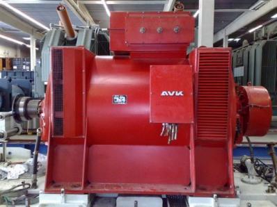 Used Generator AVK DIDBN 150 / 145 L/4 / - Foto 9