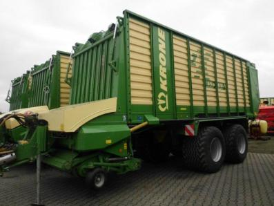 Forage transport wagon Krone ZX 450 GD, 2009 used, Emsbueren  - Foto 1