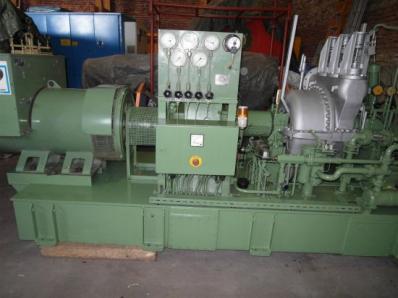 Used Condensing steam turbine Nadrowski, Dresser-Rand B5S-2+G4 / Leroy Somer - Foto 8