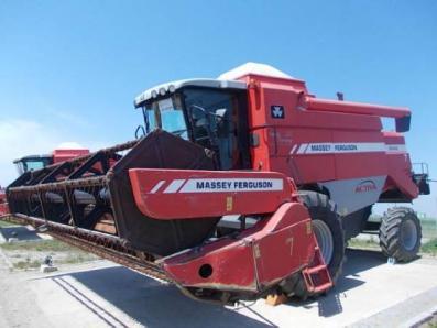 Harvester Massey Ferguson 7245 - BISO Schrattenecker - Foto 1