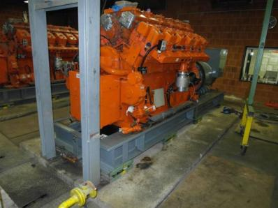 Used Gas cogeneration system / Combined Heat and Power (CHP), Engine: Waukesha L7042G / Leroy Somer LS AK 50 VL10 6-P - Foto 6