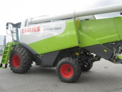 Combine harvester CLAAS Lexion 560, used, Emsbueren - Foto 2
