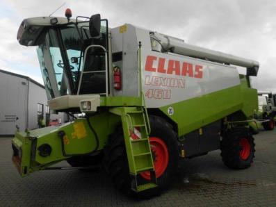 Combine harvester CLAAS Lexion 460, used, Emsbueren - Foto 1