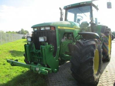 Tractor John Deere 8310 - acrar 1