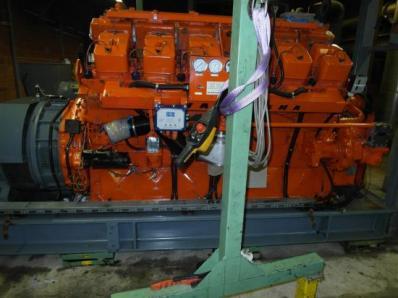 Gas cogeneration sys CHP Engine: Waukesha L7042G / Leroy Somer LS AK50 VL10 6P - Foto 17