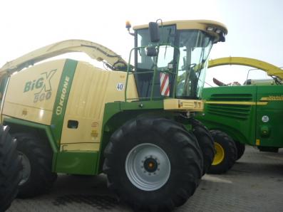 Self-propelled forage harvester Krone Big X 500, used, 2010 Emsbueren - Foto 1